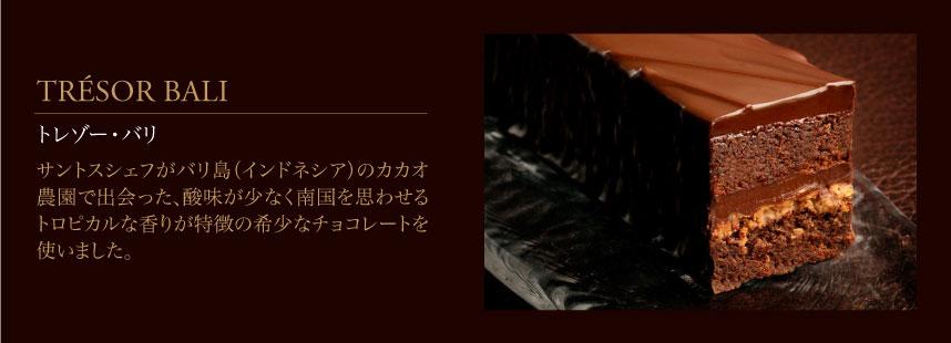 濃厚チョコレートケーキ「トレゾー・バリ」